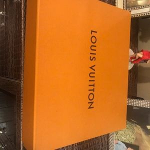 Louis Vuitton box with ribbon